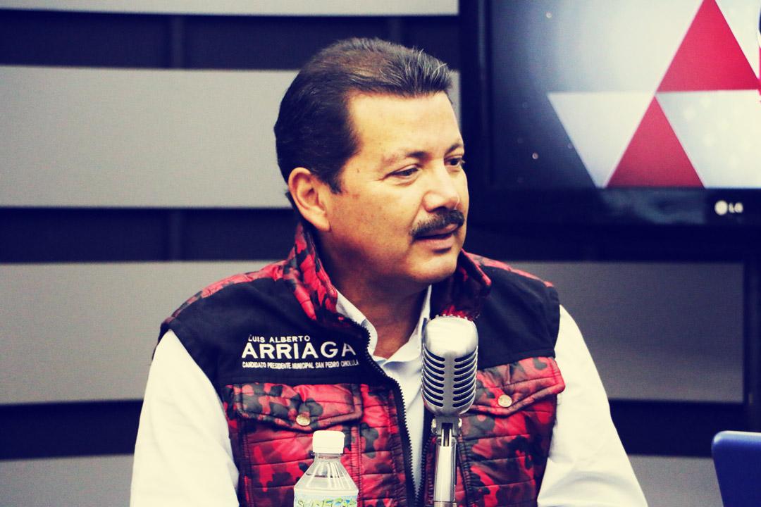 Entrevista con Luis Alberto Arriaga