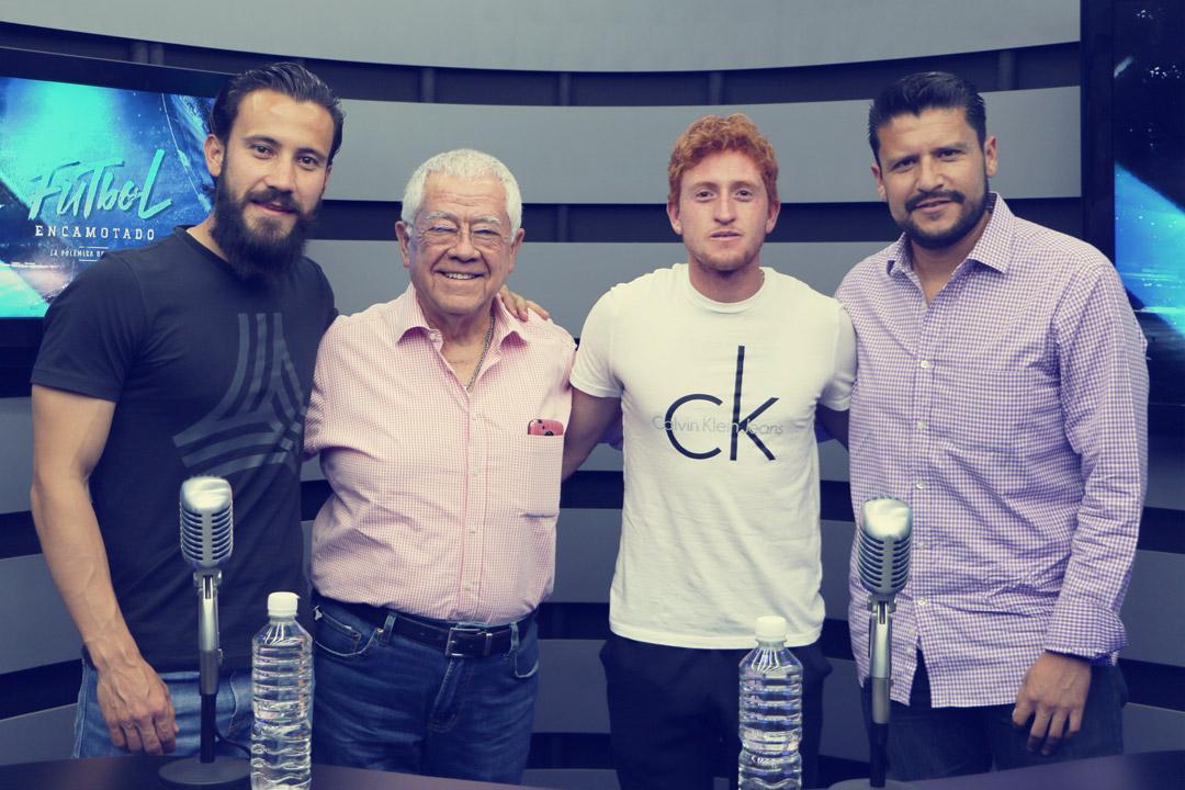 """#FutbolEncamotado: José Daniel Guerrero """"Chepe"""" y Óscar Villanueva """"El Rojo"""""""