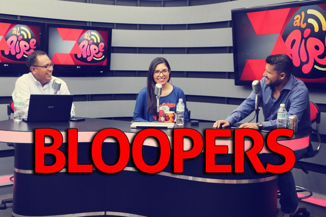 Yo viví desde muy joven | Bloopers