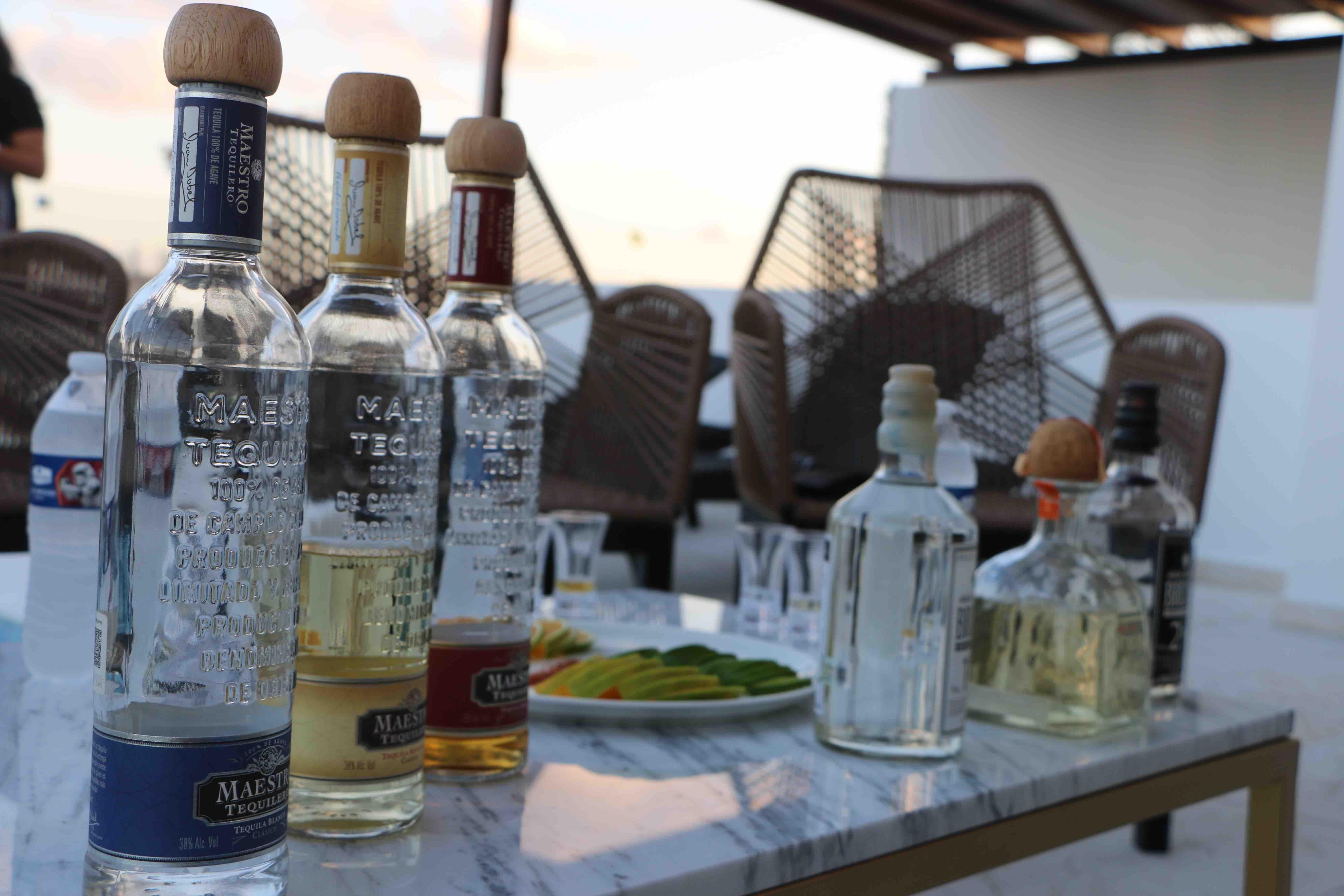 Cata de Tequila en The Shore at 46th Hotel