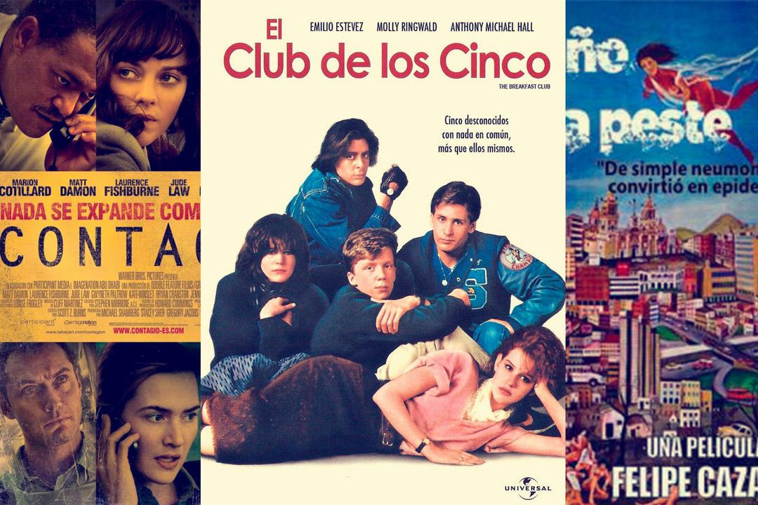 El club de los cinco, Contagio y El año de la peste | Cine